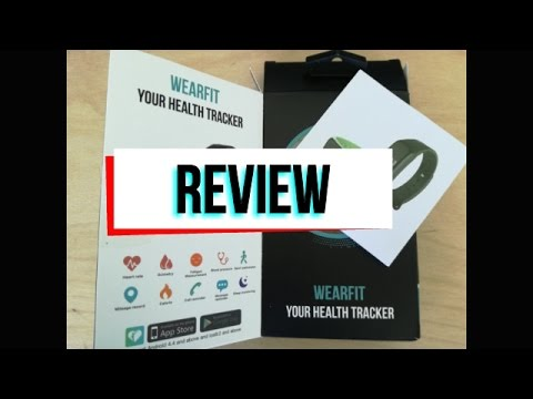WEARFIT Health Tracker review from Banggood