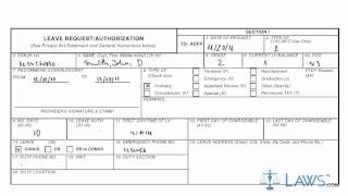Learn How to Fill the AF FORM 988 Leave Request/Authorization