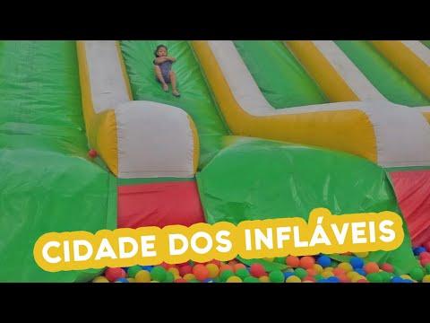 Cidade dos Infláveis fica até 1º de março de 2020 em São Bernardo