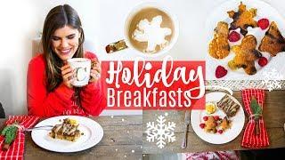 Healthy Holiday Breakfast Recipe Ideas!