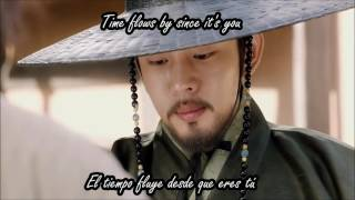 Six flying dragons OST part 2 [Xia Junsu - time flows by since it's you] Sub. al español + Eng. sub.