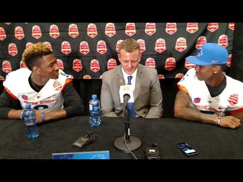 Players interview Bryan Harsin