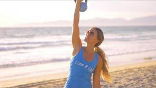 Kettlebell Beginner Workout ~ Tone It Up! by Tone It Up