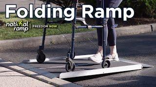 National Ramp Freedom Folding Ramp - Here, Here, Here