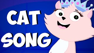 Cat Song | Original Songs For Kids From Zebra | Nursery Rhymes For Babies