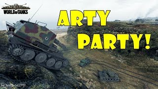 World of Tanks - Funny Moments | ARTY PARTY! #57