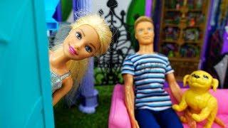 Барби и Кевин переезжают в загородный дом - Видео для девочек