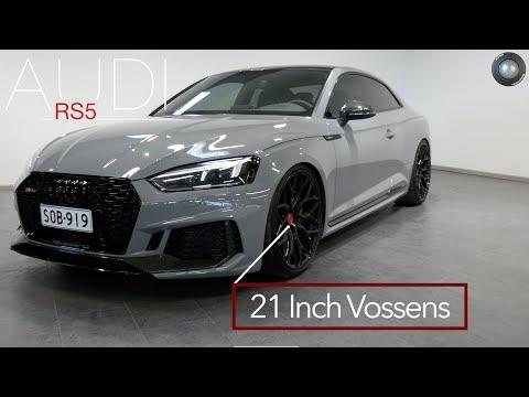 Gorgeous Audi RS5 in Nardo Grey w/Vossen HF2