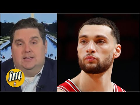 Brian Windhorst: NBA executives are keeping an eye on Zach LaVine | The Jump