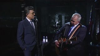 Stephen Colbert And <b>John Prine</b> Perform Thats The Way That The World Goes Round