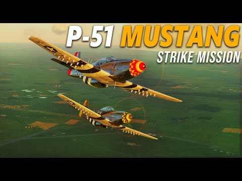 P-51 Mustang Strike Mission   Channel Map   Digital Combat Simulator   DCS  