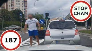 Stop Cham #187 - Niebezpieczne i chamskie sytuacje na drogach