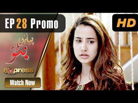 Pakistani Drama | Piyari Bittu - Episode 28 Promo | Express Entertainment Dramas | Sania Saeed