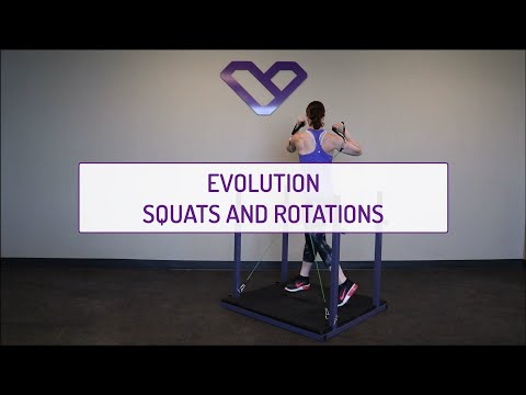Evolution Squats and Rotations