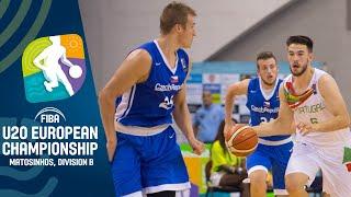 Portugal v Czech Republic - Full Game - FIBA U20 European Championship Division B 2019