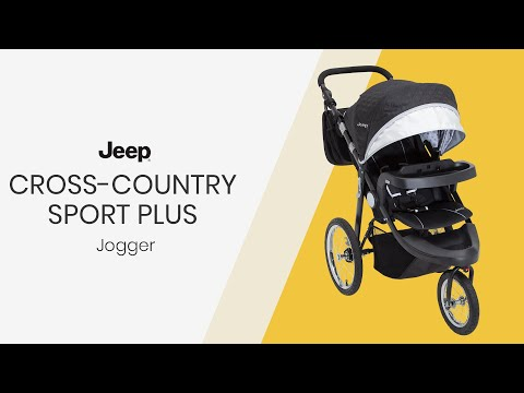 J is for Jeep® Brand Cross-Country Sport Plus Jogger (by Delta Children)