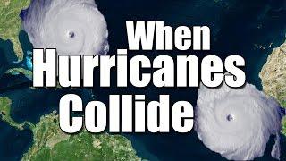 When hurricanes collide: The Fujiwhara Effect