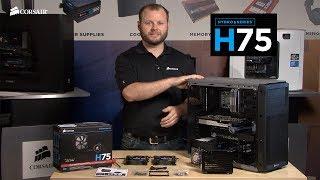 Installing the Corsair Hydro Series H75 Liquid CPU Cooler