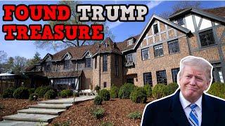 Abandoned New York Trump Mansion (Found Trump Items Inside)
