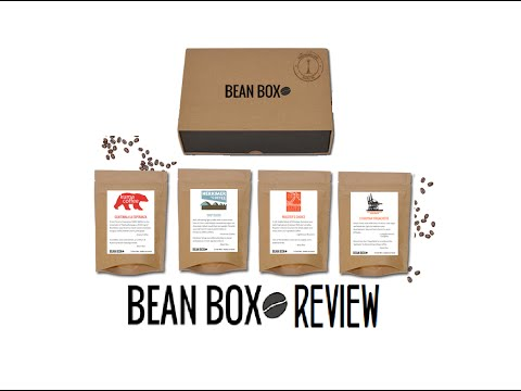 Bean Box Coffee Subscription - Review and Unboxing