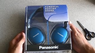 Panasonic RP-HX350 Headphones Unboxing and FULL Review