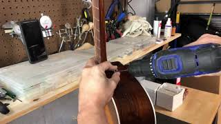 How to Install a Guitar Strap Button