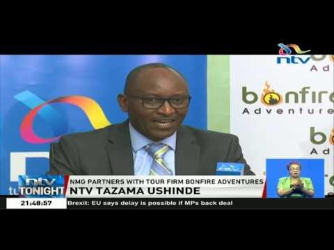 NMG partners with Bonfire Adventures to launch 'NTV Tazama ushinde'
