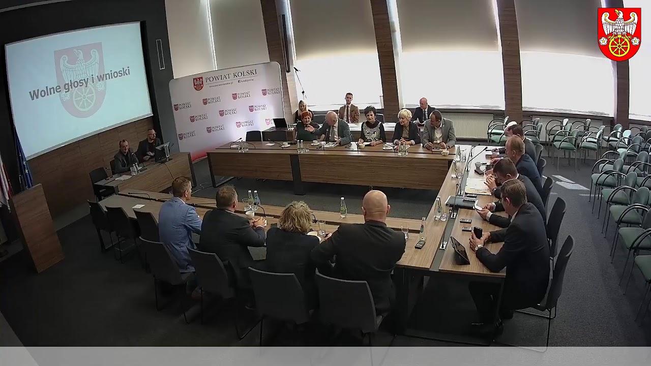 Zdjęcie do XV Sesja Rady Powiatu Kolskiego