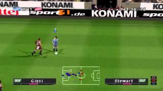 Pro Evolution Soccer 2 (2002) Gameplay - PSX,PSONE,PlayStation 1