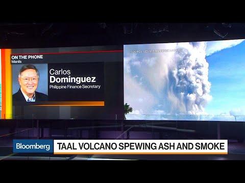 Philippines Financially Ready for Volcanic Eruption Damage: Finance Secretary
