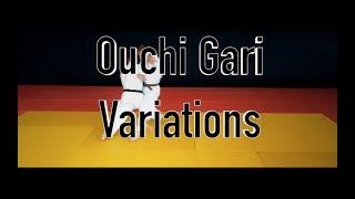 Ouchi Gari Variations / Зацеп изнутри голенью