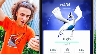 DID WE JUST CATCH A LUGIA?! (Pokemon Go Gen 2)