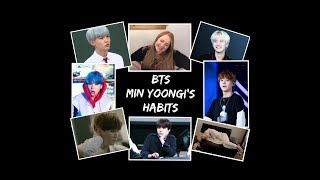 EXO L Reacts To BTS   Yoongi's Habits