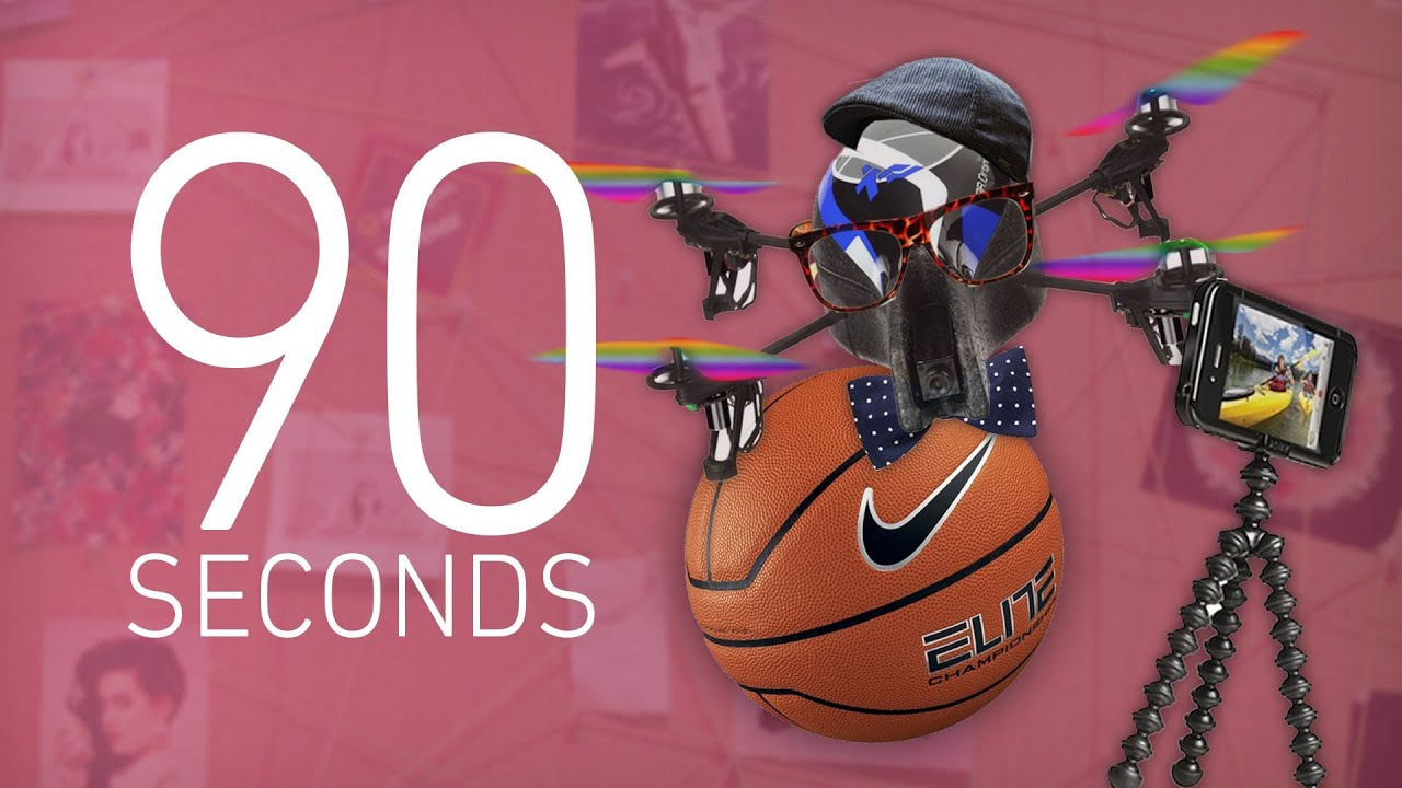 Brooklyn drone, NCAA Twitter limits, and more - 90 Seconds on The Verge: Tuesday, March 5th, 2013 thumbnail