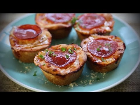 How to Make Easy Pepperoni Pizza Muffins | Back to School Recipes | Allrecipes.com