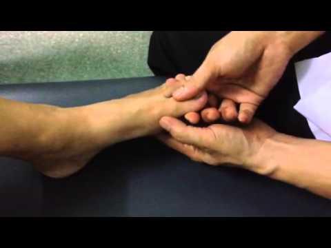 เจ็บเท้าเมื่อเท้าผิดปกติ