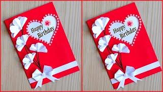 Beautiful Birthday greeting card idea /Handmade birthday greeting card for Best Friend