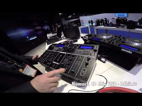 First look Numark CD MIX USB Namm 2016 – DJKit.tv