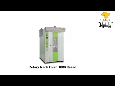72 Bread Rotary Rack Oven
