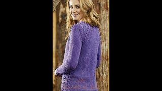 Пуловер, Сверху Связанный Спицами - 2019 / Pullover Top Knitted