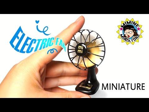 [ENG Sub] Miniature DIY - Real Electric fan / Mimine Miniature