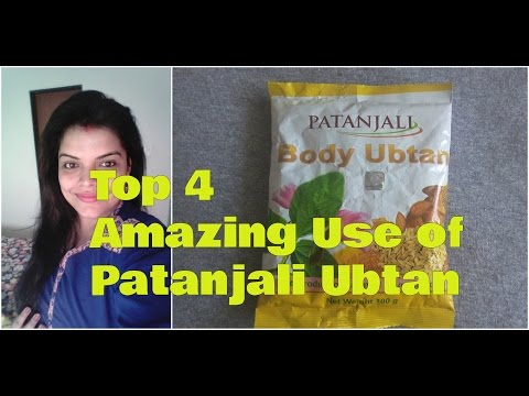 , title : 'PATANJALI BODY UBTAN use for Face, PATANJALI UBTAN for FAIR SKIN and FACIAL HAIR, Review in Hindi'