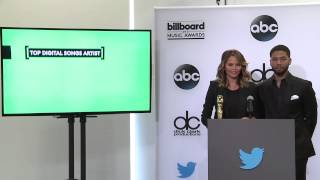 Top Digital Songs Artist Finalists - BBMA Nominations 2015