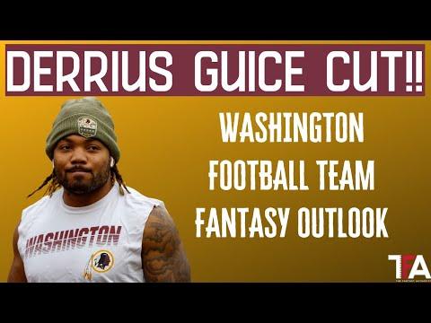 Derrius Guice Cut! | Washington 2020 Fantasy Outlook