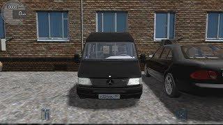 Сity Car Driving - Работаем Маршрутчиком на Mercedes-Benz Sprinter 312d