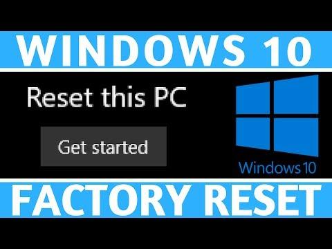 ASUS q304u Laptop Factory Reset Windows 10 - смотреть онлайн на Hah Life
