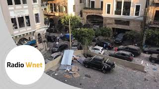 Mieszkaniec Bejrutu: Port już nie istnieje. 20 tys. osób nie ma gdzie mieszkać. Brakuje wszystkiego