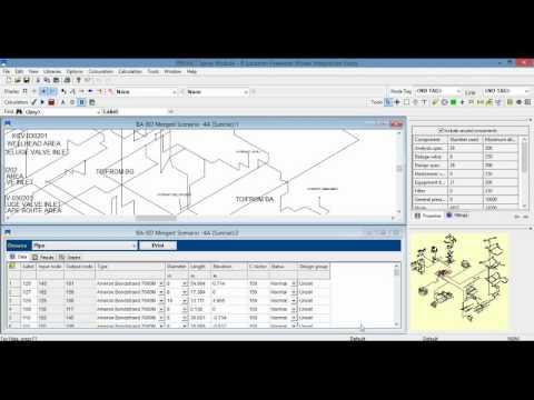 PIPENET Spray/Sprinkler module hướng dẫn sử dụng phần mềm