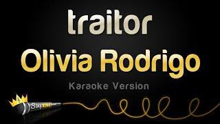 Olivia Rodrigo - traitor (Karaoke Version)