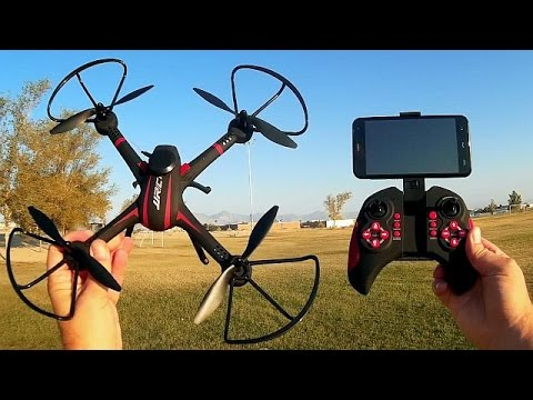 JJRC H11WH Altitude Hold Camera Drone Flight Test Review